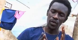 Raising awareness: Gora Mbaye's rap about flooding in Thiaroye